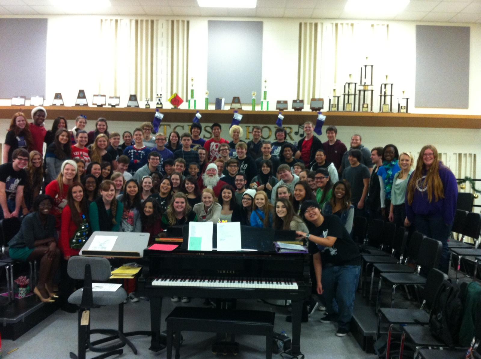 Santa Clint and the incredible Timbercreek High School Choir